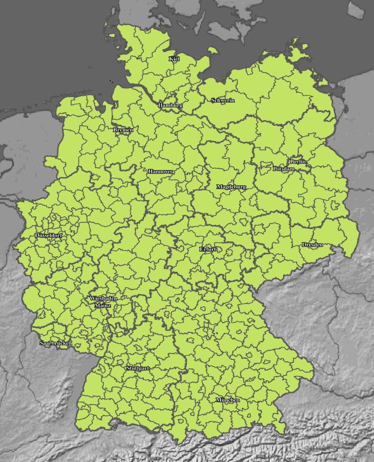 Sturmwarnung Orkanwarnung Deutschland