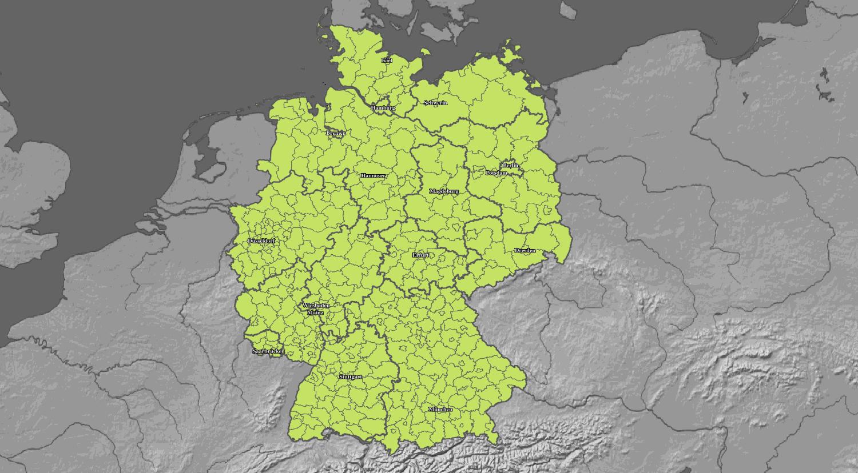 Hitzewarnung für Deutschland