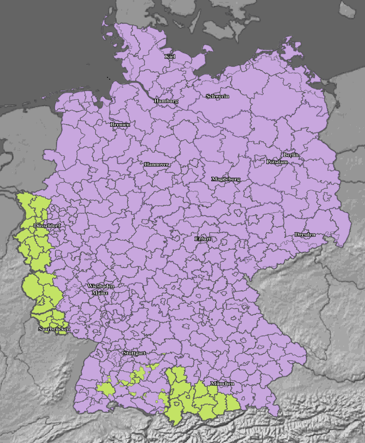 Aktuelle Hitzwarnung Deutschland  Hitzewelle